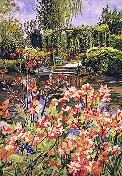 Spring Day In Giverny by David Lloyd Glover