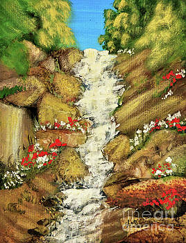 Sharon Williams Eng - Spring Mountain Waterfall