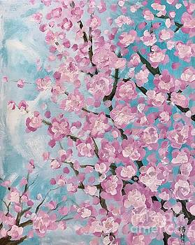 Spring pink by Wonju Hulse
