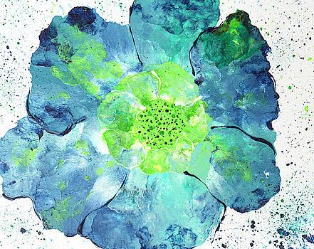 Spring Sturm Wind Flower by Iris Richardson