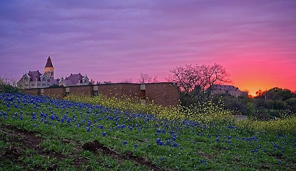 Spring Sunset by Dave Files