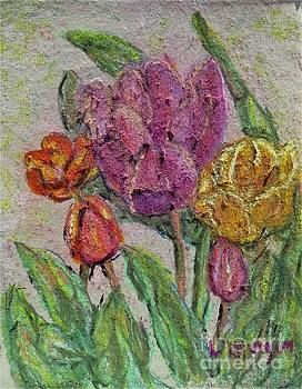 Spring Tulips by Laurie Morgan