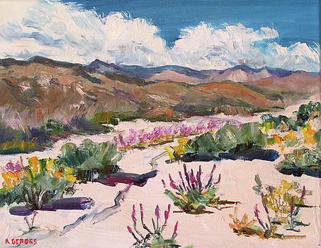 Spring wildflowers in Anza-Borrego by Robert Gerdes