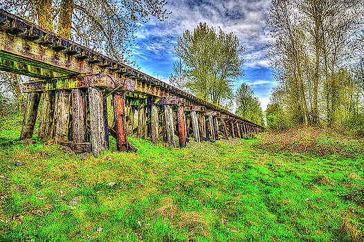 Springhetti Train Trestle by Spencer McDonald