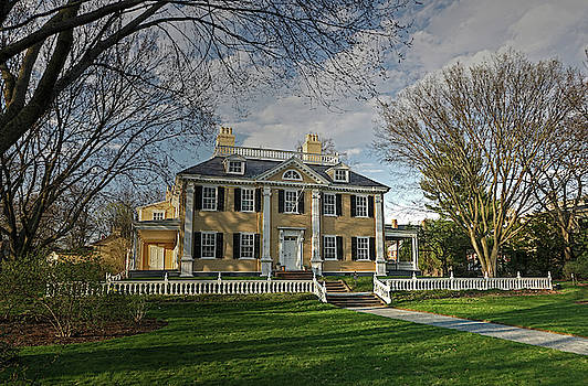 Springtime at Longfellow House by Wayne Marshall Chase