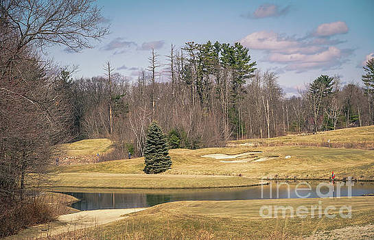 Springtime on the golf course by Claudia M Photography