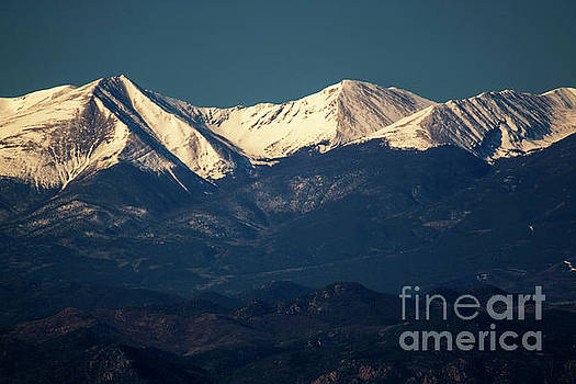 Springtime Sangre de Cristo Mountains by Steve Krull