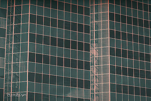 Square Glass Angles by Paulette B Wright