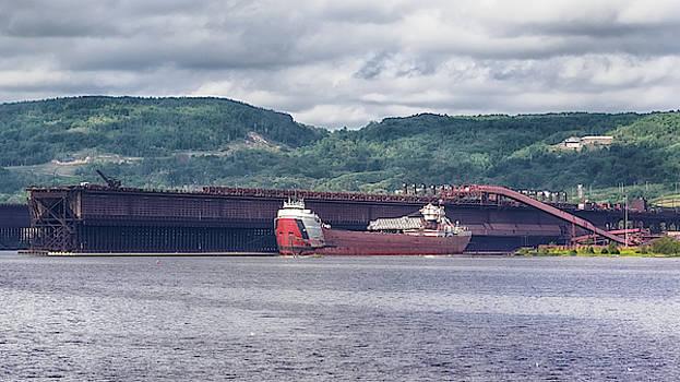 Susan Rissi Tregoning - SS Arthur M Anderson Docked