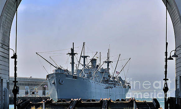 S S Jeremiah O' Brien by Diann Fisher