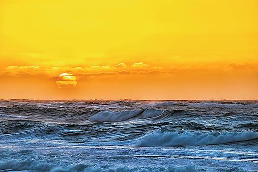 Sunset On A Windy Evening by Fernando Margolles