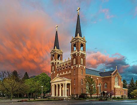 St. Aloysius Church by David Sams