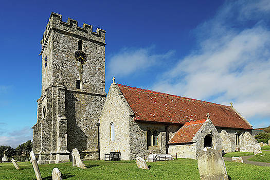 St Andrew's Church, Chale, Isle of Wight by Rod Johnson