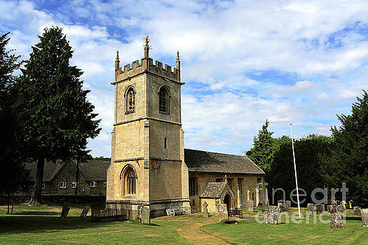St Andrews Parish Church, Naunton village by Dave Porter