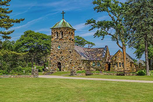 St Ann's Episcopal Church Kennebunkport Maine by Betsy Knapp