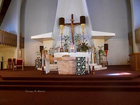 St Augustine Altar Hawaii by Carolyn Hebert