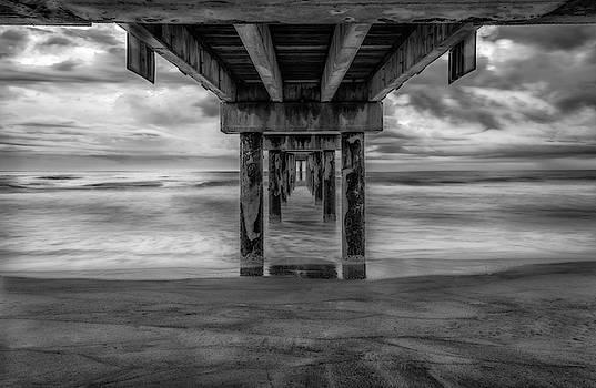 St Augustine Beach Pier 2 by Jeffrey Klug