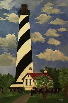 St Augustine Lighthouse by Connie Spencer