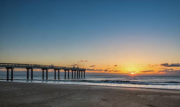 St. Augustine Pier at Sunrise by Jeffrey Klug