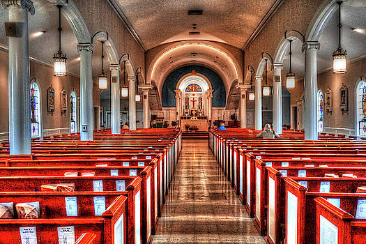 St. Francis Xavier Church by Mary Timman