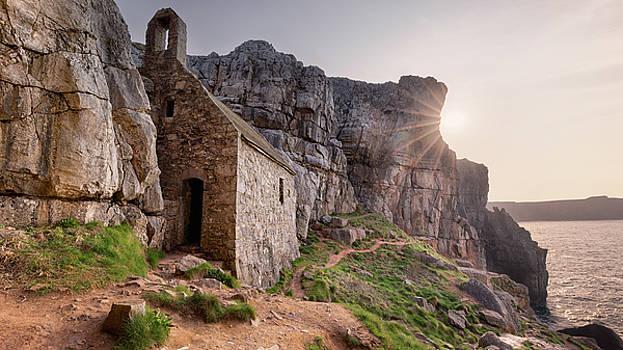 St. Govan's Chapel Sunrise by Elliott Coleman