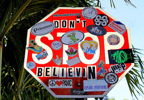 St. John Don't Stop Believin by Fiona Kennard