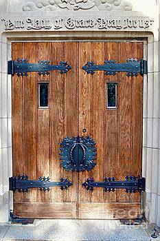 St. John's Cathedral's door by Linda Covino