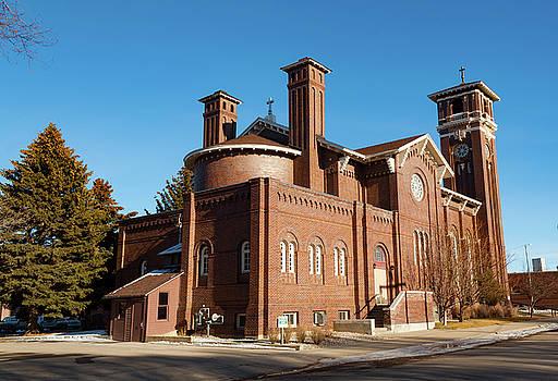 St. Leo Catholic Church by Fran Riley