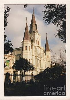 St. Louis Cathedral 3 by Bruce VanLoon