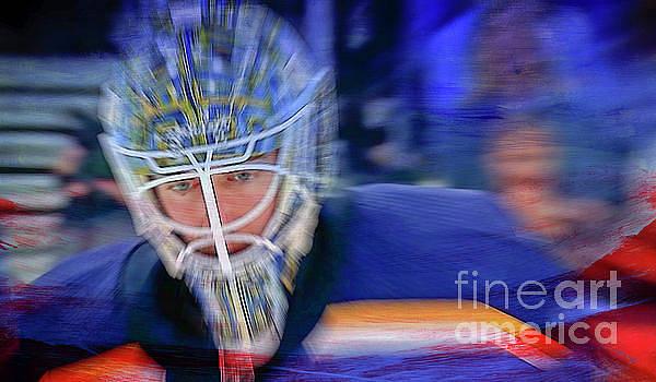 St Louis Goalie by Billy Knight