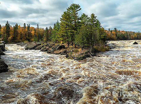 St. Louis River Rapids by Susan Rydberg