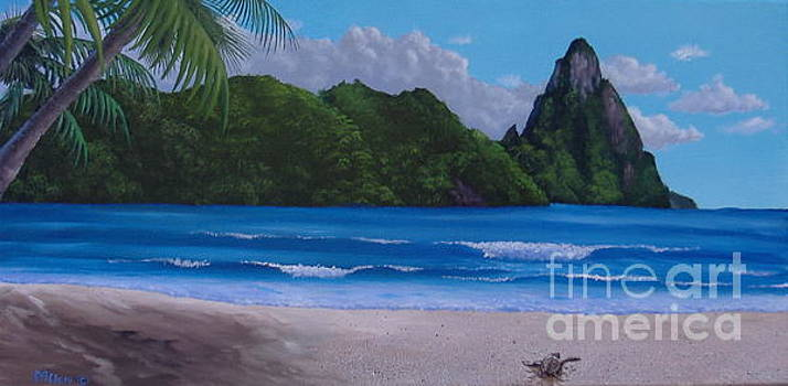 St. Lucia by Day by Michael Allen