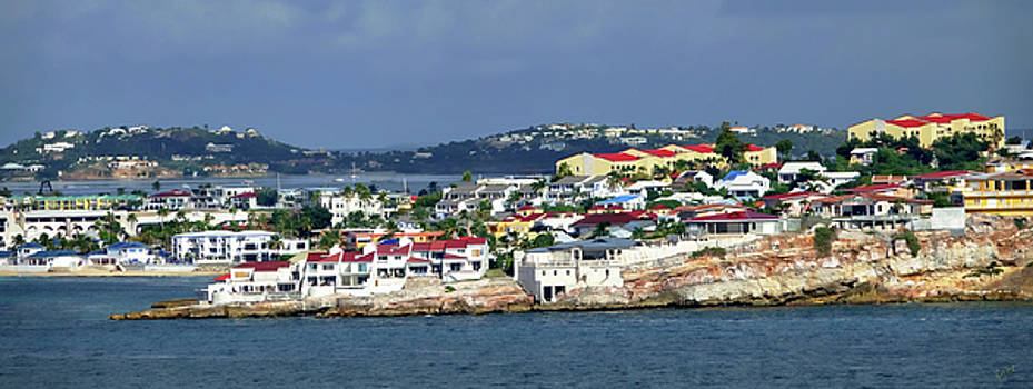 St. Maarten on the Sea by Rick Lawler