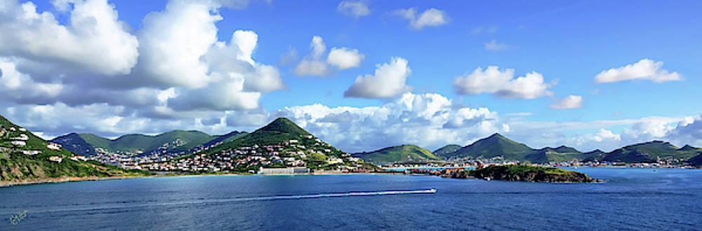 St. Maarten Panorama by Rick Lawler