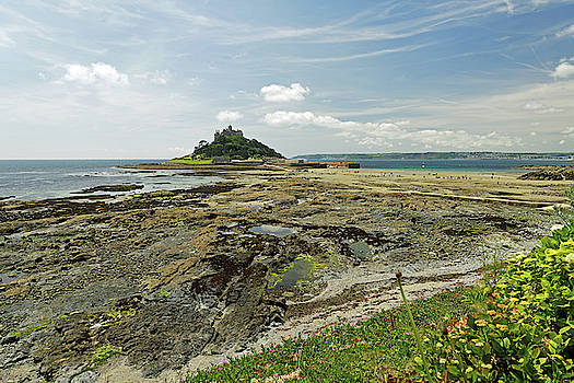 St Michael's Mount - Looking West by Rod Johnson