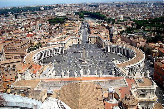 St. Peter's Basilica2 by Aleksandra Savova