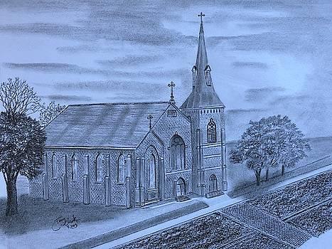 St Peters Catholic Church  by Tony Clark