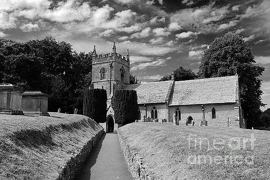 St Peters Parish Church, Upper Slaughter village by Dave Porter
