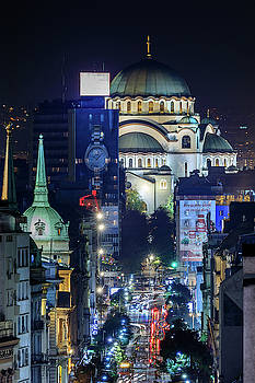 St. Sava Temple in Belgrade by Dejan Kostic