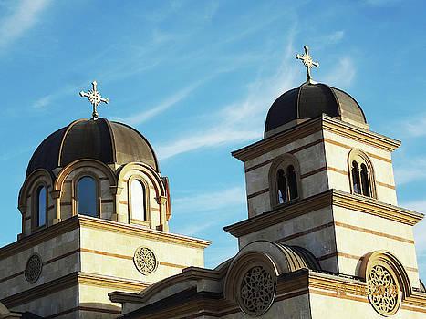 St. Simeon Serbian Church 1 by Bruce Iorio