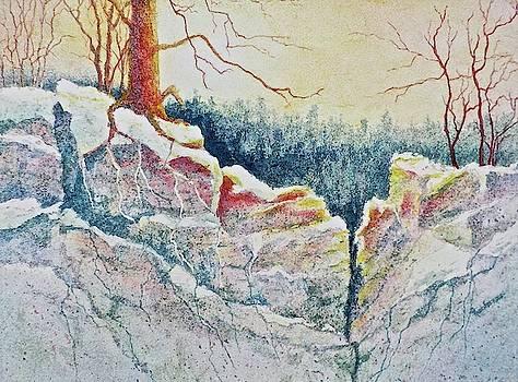 Standing in Stillness by Carolyn Rosenberger
