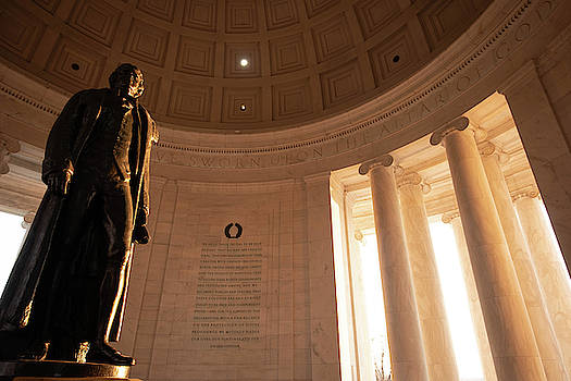Standing Tall in D.C. by Dawn Wayand