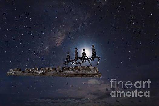 Star Runners by Sherry Little Fawn Schuessler