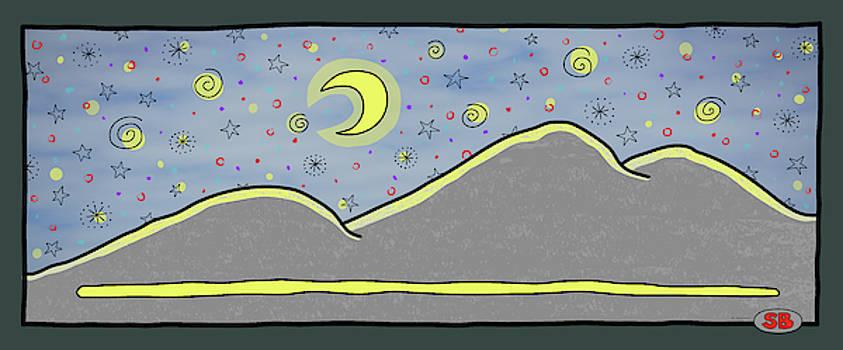 Starry Starry Night by Susan Bird Artwork