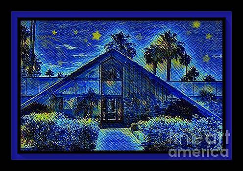 Starry Starry Palm Springs Night by Stacey Brooks