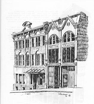 State Publishing and Parchen Building Helena Montana by Kevin Heaney
