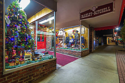 State Street Christmas Blakley Mitchell by Greg Booher