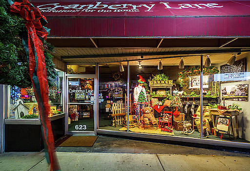 State Street Christmas Cranberry Lane by Greg Booher