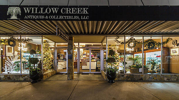 Greg Booher - State Street Christmas Willow Creek Antiques and Collectables