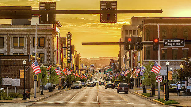 State Street Sunset by Greg Booher